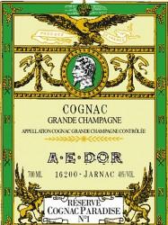 Cognac A.E.DOR - Réserve Cognac Paradise No. 1