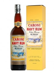 2000er Caroni Navy Rum - Extra Strong 90° Proof - 18 years old
