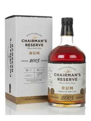 2005er Chairman`s Reserve Rum - 14 years old