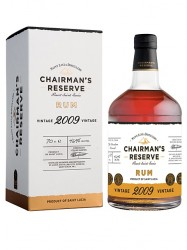 2009er Chairman`s Reserve Rum - 11 years old