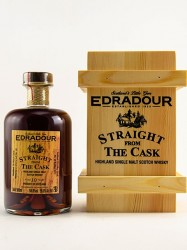 2008er Edradour - Dark Sherry Butt - 10 years old