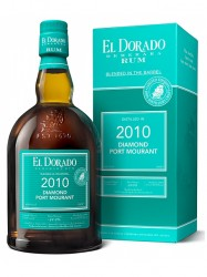 2010er Rum El Dorado - Diamond/Port Mourant - 9 years old