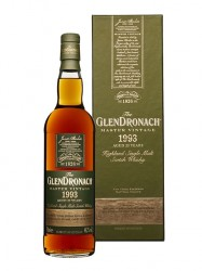 1993er The Glendronach - Master Vintage - 25 years old