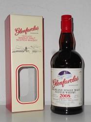 2008er Glenfarclas - 8 years old - Christmas Edition