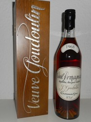 1968er Vieil Armagnac J. Goudoulin - 50 years old