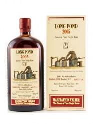2005er Rum Habitation Velier - Long Pond TECA - 14 years old