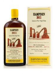 2011er Rum Habitation Velier - Hampden LFCH - 7 years old