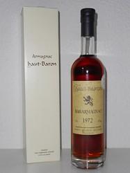 Armagnac Haut Baron - Vintage 1972