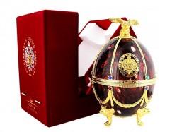 Vodka Imperial Collection - Fabergé Ei - Bordeaux Rot