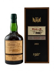 2004er Rhum J.M - Brut de Fut - 15 years old