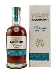 Rhum Karukera l`Expression - Brut de Fut - Cognac Cask Finish