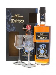 Rum Malteco 10 Anos Reserva Aneja - Geschenkset