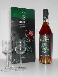 Rum Malteco - 15 years old - Geschenkset