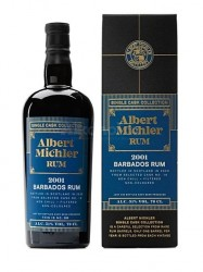 2001er Albert Michler Single Cask Rum - Barbados - 19 years old