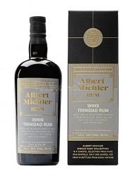 2002er Albert Michler Single Cask Rum - Trinidad - 18 years old