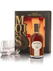 Cognac Moisans X.O - Geschenkset