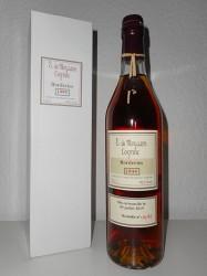 1995er Cognac E. de Moysson - Brut de Fut - 24 years old