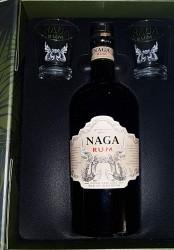 Naga Double Aged Cask  Rum - Geschenkset  (New Edition)