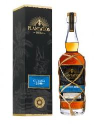 2008er Rum Plantation Guyana - Pineau Rouge Cask Finish - 12 years old