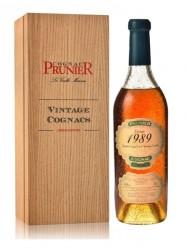 Cognac Prunier - Grande Champagne - Jahrgang 1989