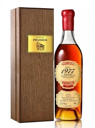 1977er Cognac Prunier - Borderies - 39 years old