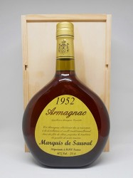 Armagnac Marquis de Sauval - Jahrgang 1952