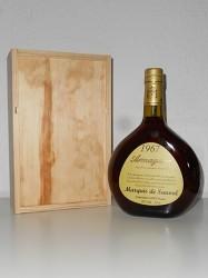 Armagnac Marquis de Sauval - Jahrgang 1967