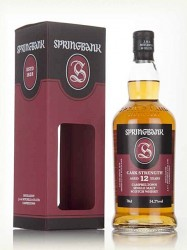 Springbank - Cask Strength - 12 years old