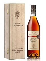1990er Cognac Vallein Tercinier - Brut de Fut - 26 years old