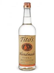 Tito`s Handmade Vodka 80 Proof  (1 Liter)