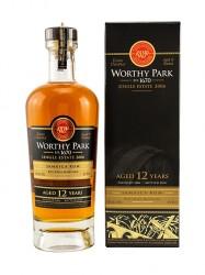 2006er Worthy Park Single Estate Rum - 12 years old